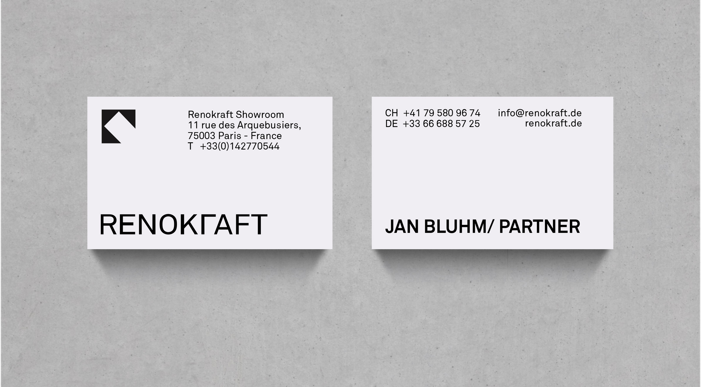 Architecture Business Cards Logo