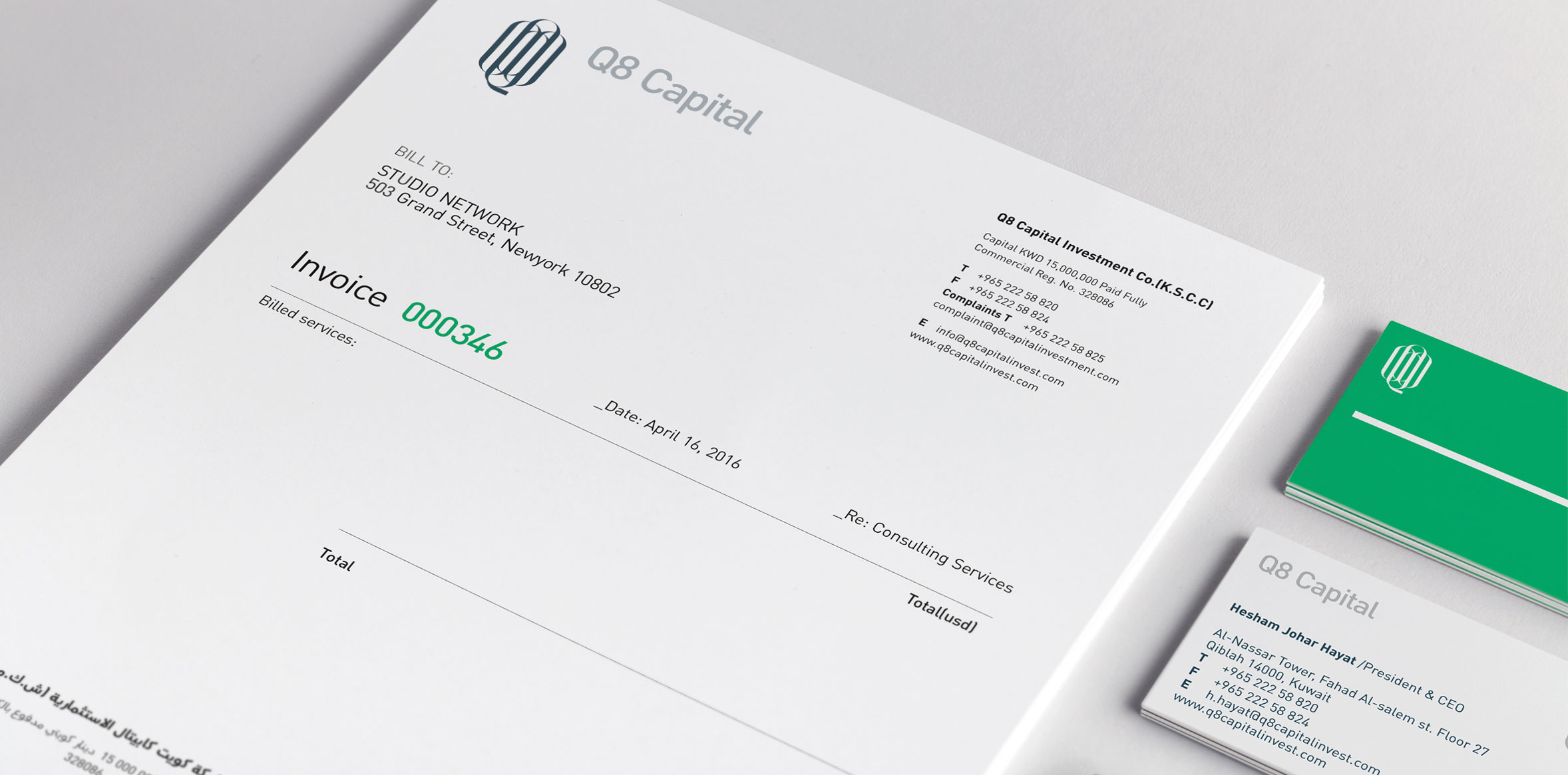 Financial Corporate Identity