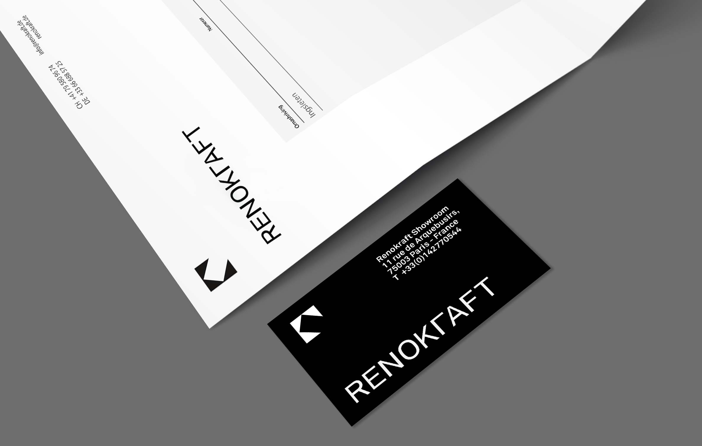 Interior Design Corporate Identity and Business Card