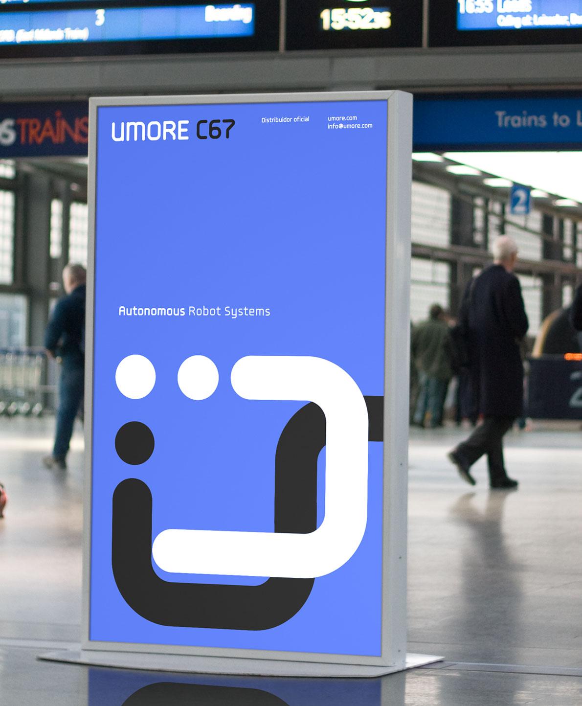 Robotics Company Signage Display