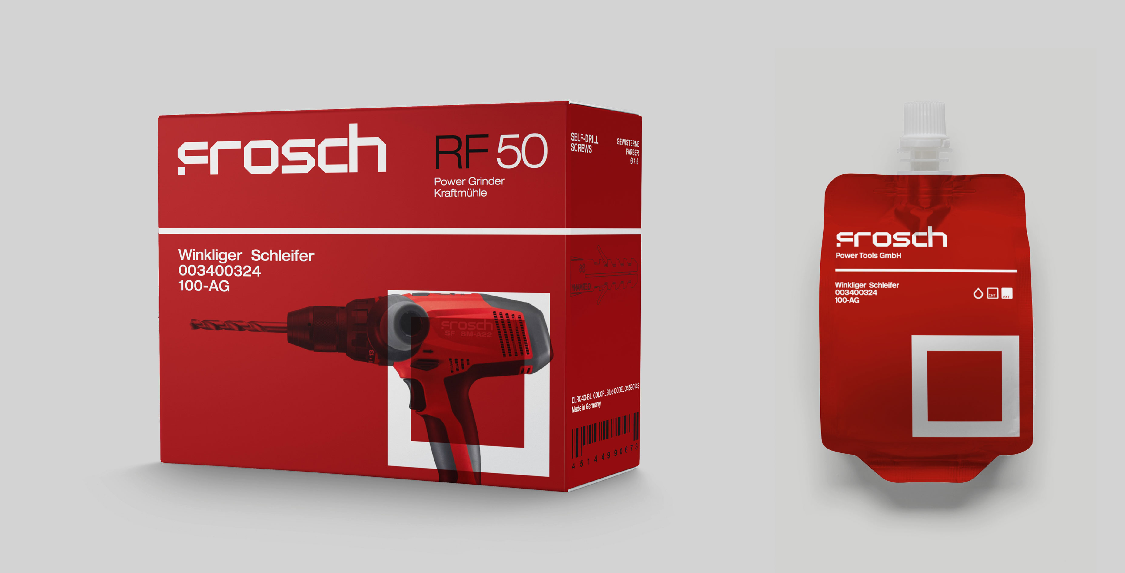Power Tools Packaging Corporate Identity
