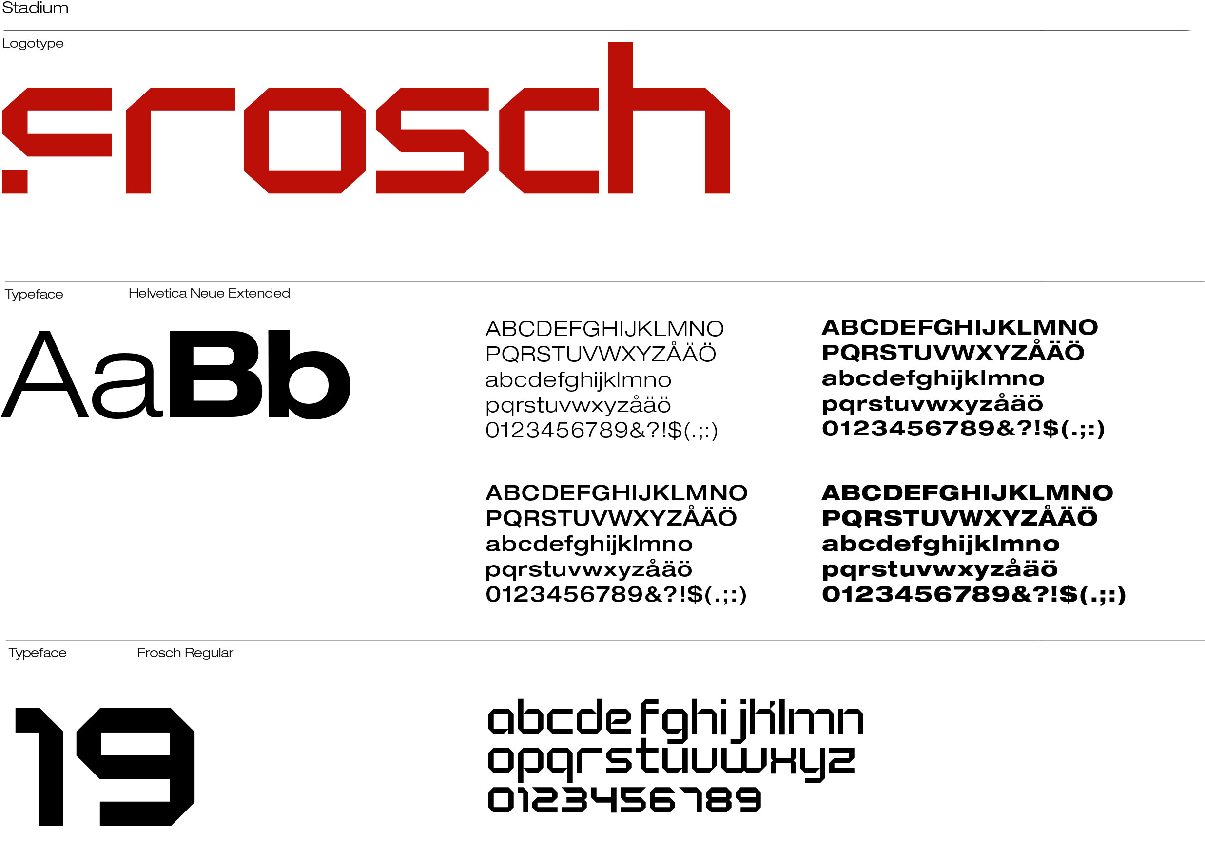Power Tools Corporate Identity Font Design