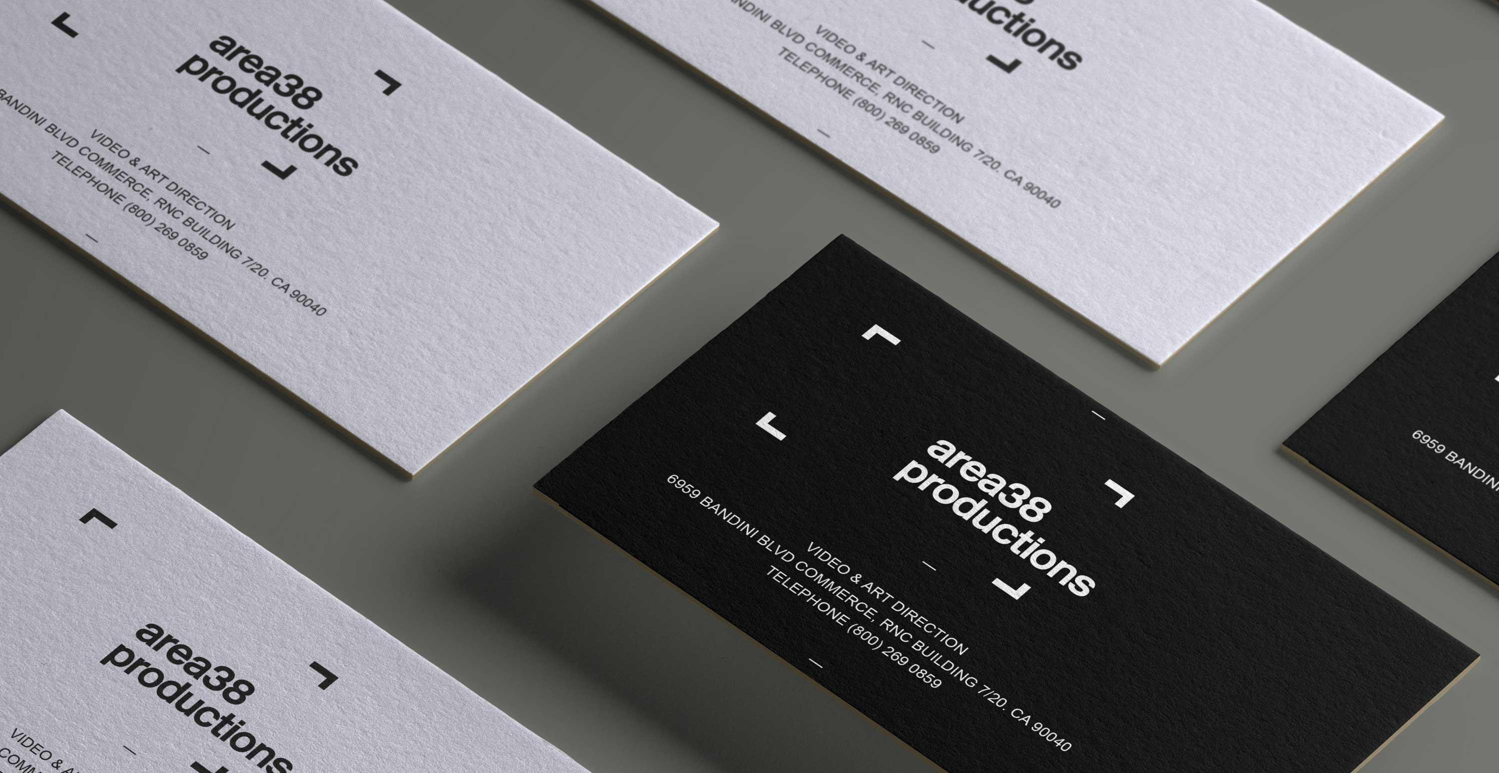Video Production Company Brand Identity